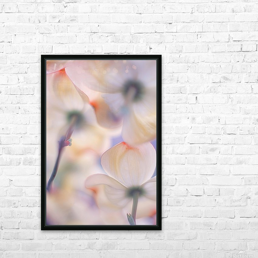 Under the skirts of flowers HD Sublimation Metal print with Decorating Float Frame (BOX)