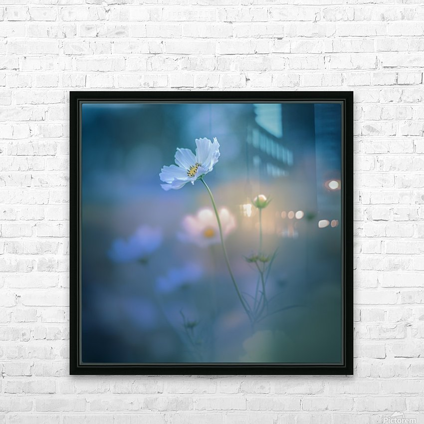 white shadow HD Sublimation Metal print with Decorating Float Frame (BOX)