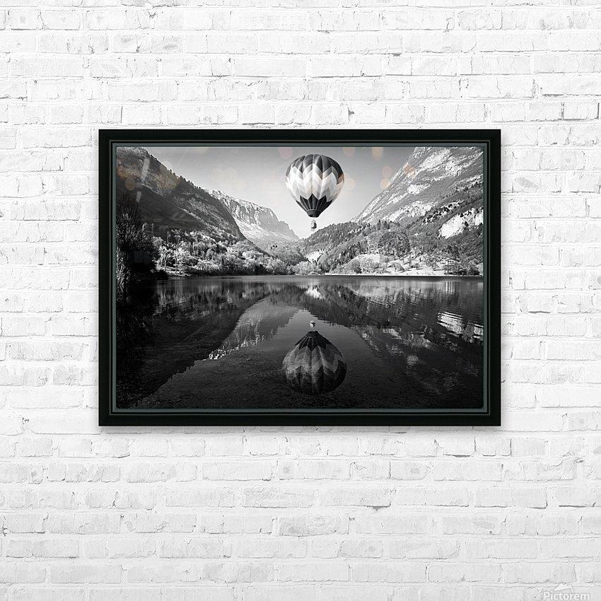 La mongolfiera HD Sublimation Metal print with Decorating Float Frame (BOX)