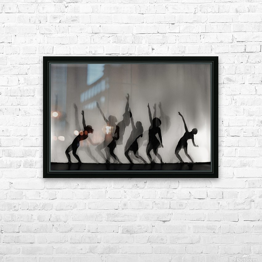 Dance is the language of the soul ... HD Sublimation Metal print with Decorating Float Frame (BOX)