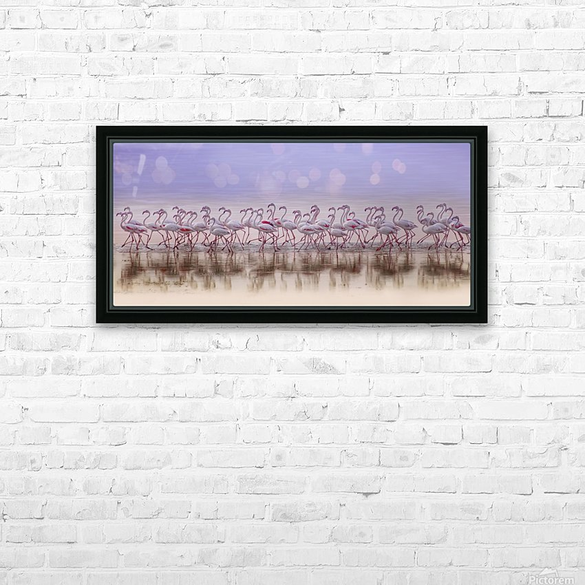 Comrades in color HD Sublimation Metal print with Decorating Float Frame (BOX)