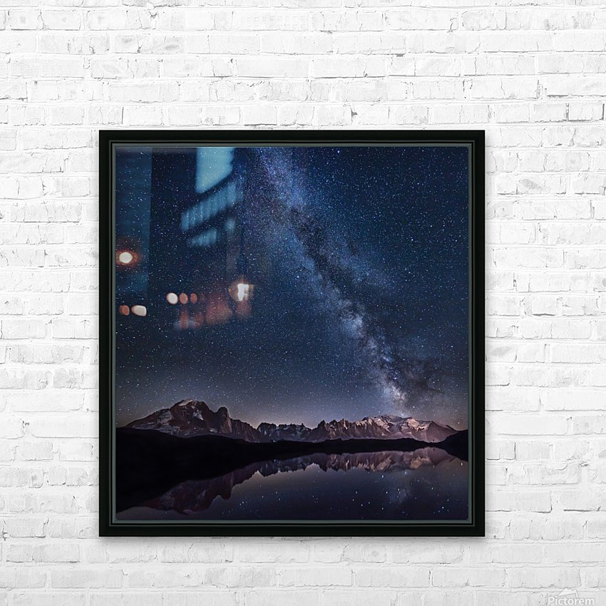 Lost in the stars HD Sublimation Metal print with Decorating Float Frame (BOX)