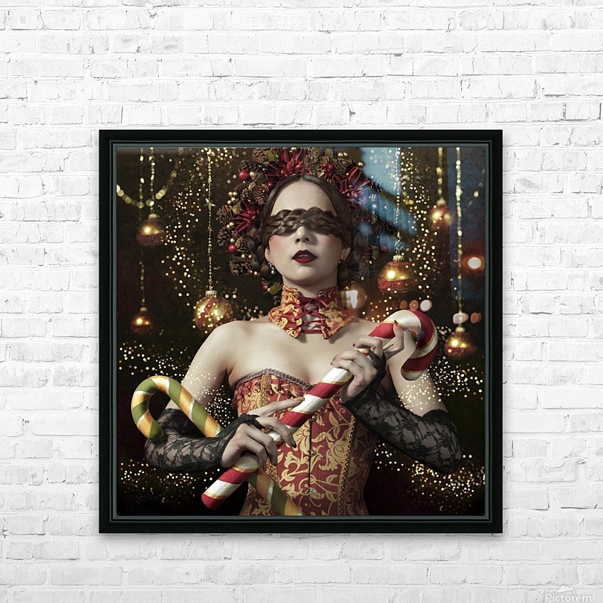 Mistress of the bright night HD Sublimation Metal print with Decorating Float Frame (BOX)