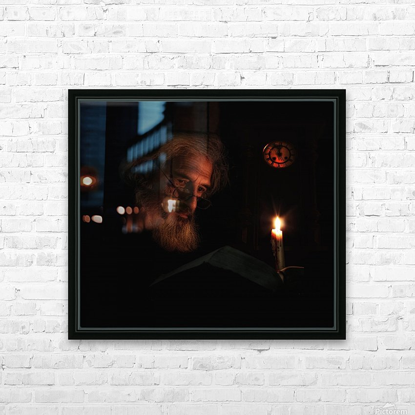 Midnight Story HD Sublimation Metal print with Decorating Float Frame (BOX)