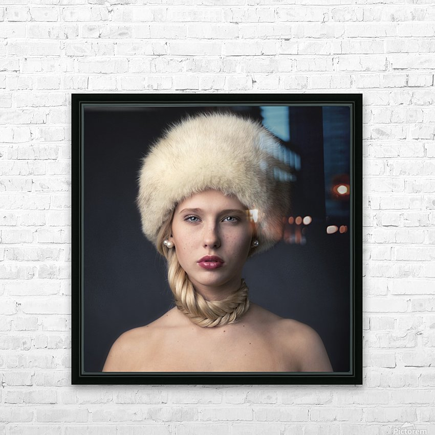 From Russia with love HD Sublimation Metal print with Decorating Float Frame (BOX)