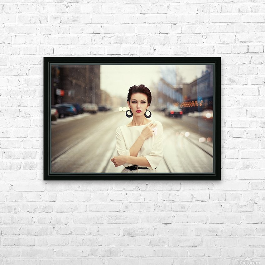 Nastya HD Sublimation Metal print with Decorating Float Frame (BOX)