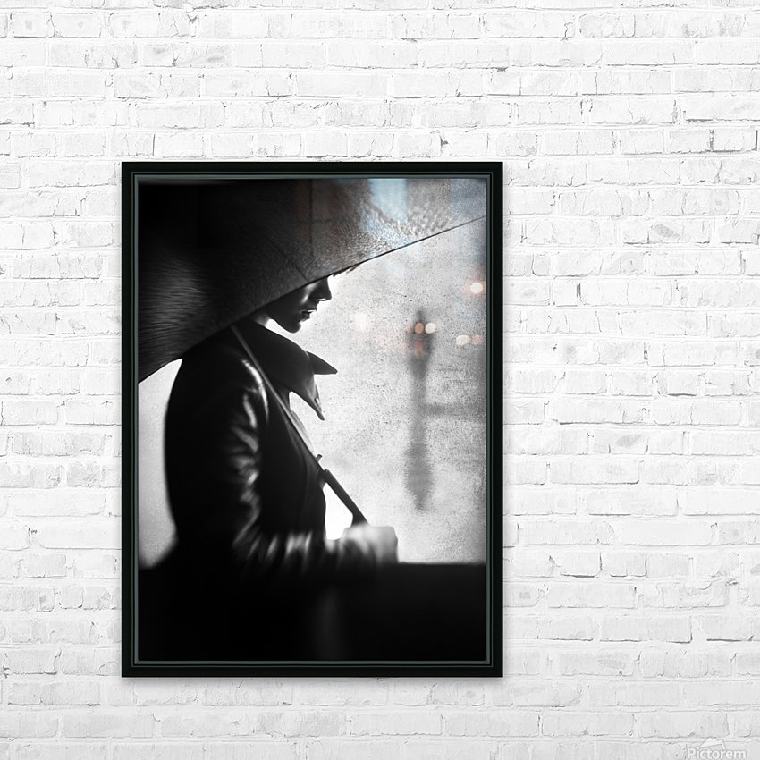 rain please tell him... HD Sublimation Metal print with Decorating Float Frame (BOX)