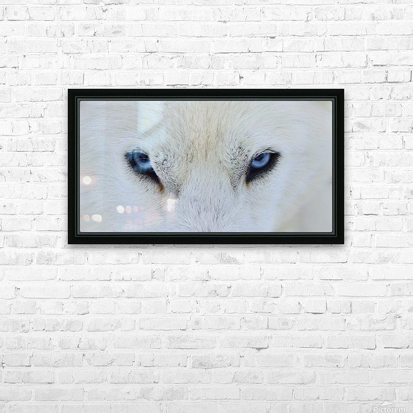 Mirada azul HD Sublimation Metal print with Decorating Float Frame (BOX)