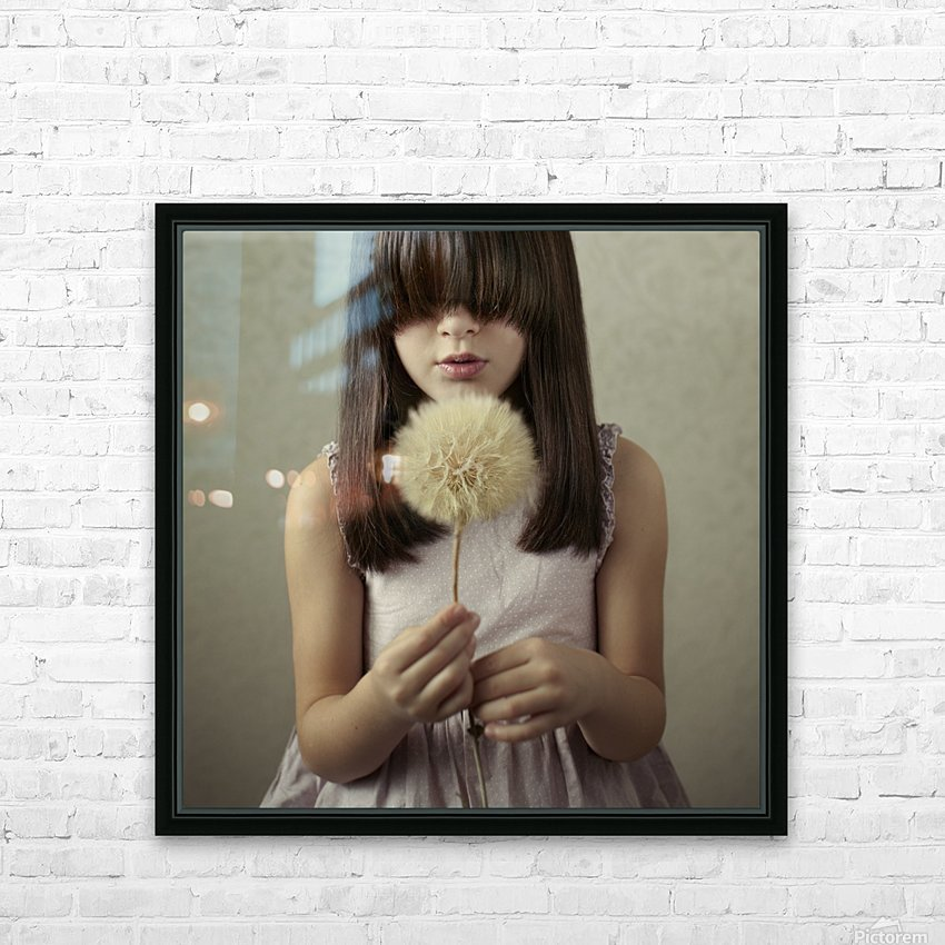 Secret Wishes HD Sublimation Metal print with Decorating Float Frame (BOX)