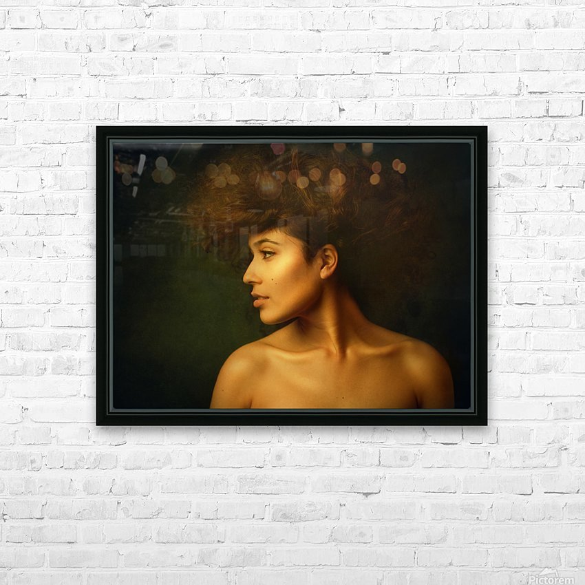 Sabina HD Sublimation Metal print with Decorating Float Frame (BOX)