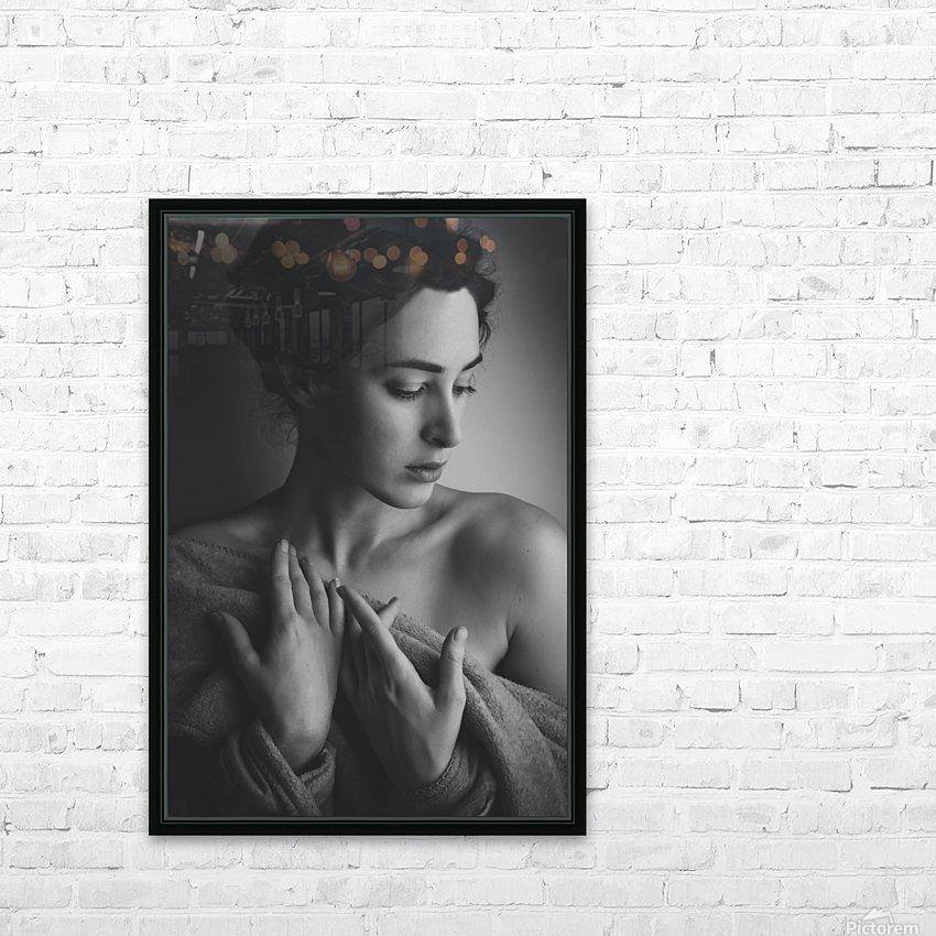 Portrait HD Sublimation Metal print with Decorating Float Frame (BOX)