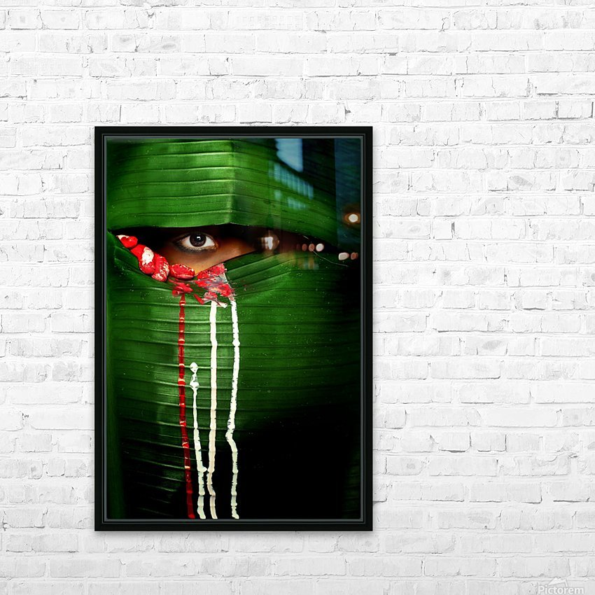 Mysterious Eye HD Sublimation Metal print with Decorating Float Frame (BOX)