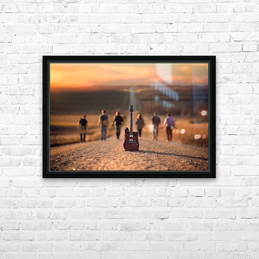 Velvet Crush HD Sublimation Metal print with Decorating Float Frame (BOX)