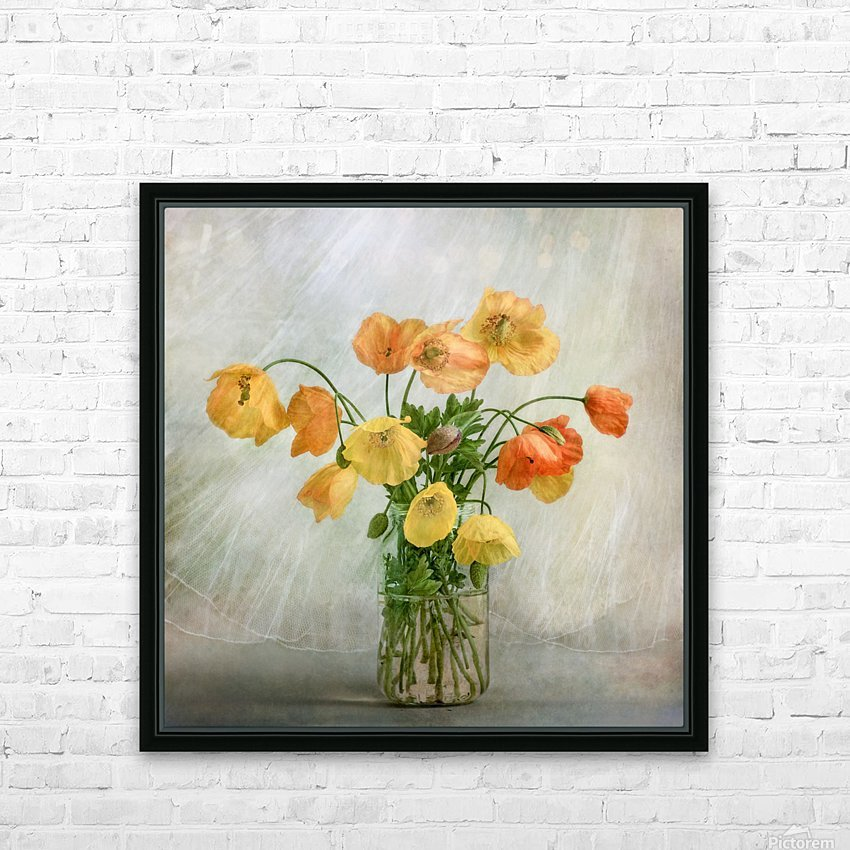 In the window HD Sublimation Metal print with Decorating Float Frame (BOX)
