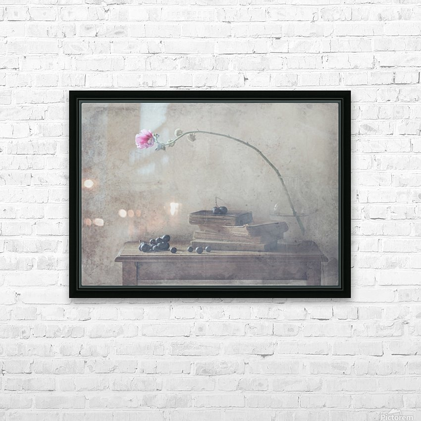 Mild Morning of October HD Sublimation Metal print with Decorating Float Frame (BOX)