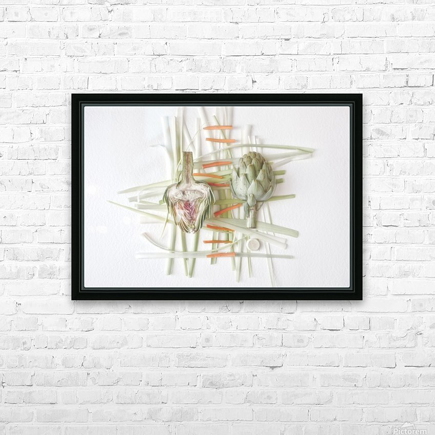 ART.ichoke - 2 HD Sublimation Metal print with Decorating Float Frame (BOX)