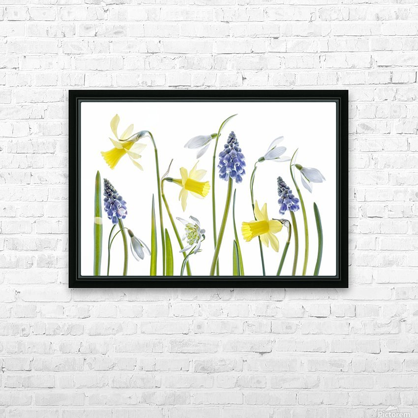 Spring HD Sublimation Metal print with Decorating Float Frame (BOX)