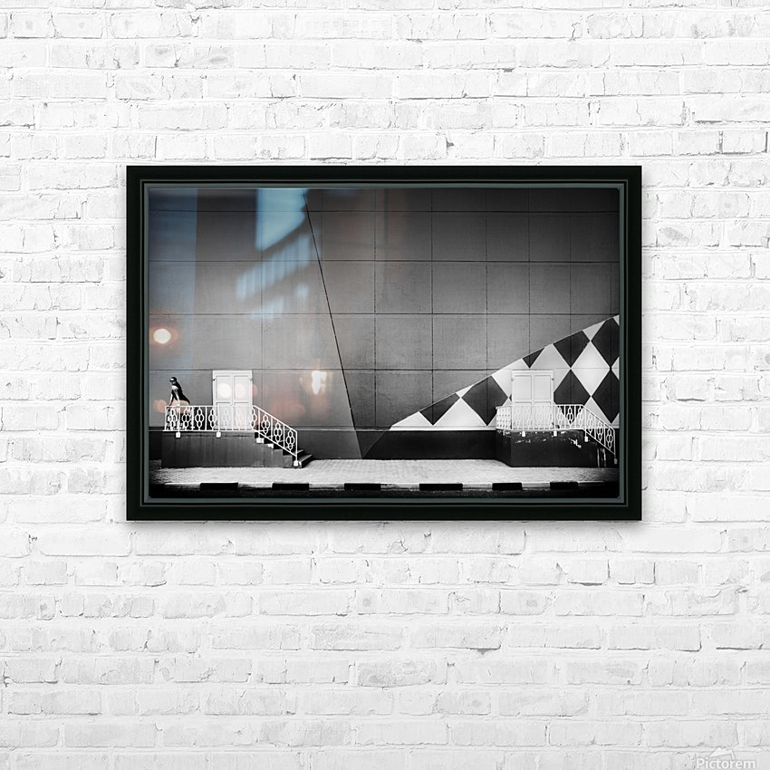 Doors HD Sublimation Metal print with Decorating Float Frame (BOX)