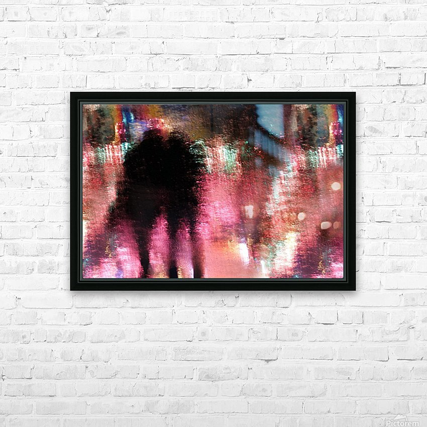 Rain above the funfair HD Sublimation Metal print with Decorating Float Frame (BOX)