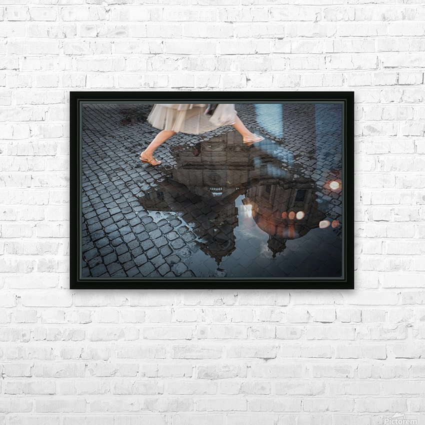 Jump HD Sublimation Metal print with Decorating Float Frame (BOX)