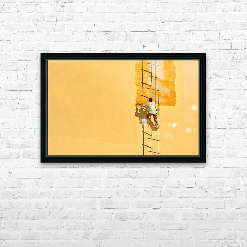 Der Anstreicher HD Sublimation Metal print with Decorating Float Frame (BOX)