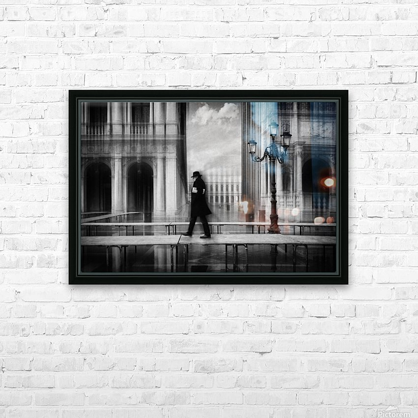 dry footed walk HD Sublimation Metal print with Decorating Float Frame (BOX)