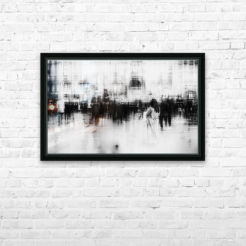 Lost among ghosts HD Sublimation Metal print with Decorating Float Frame (BOX)
