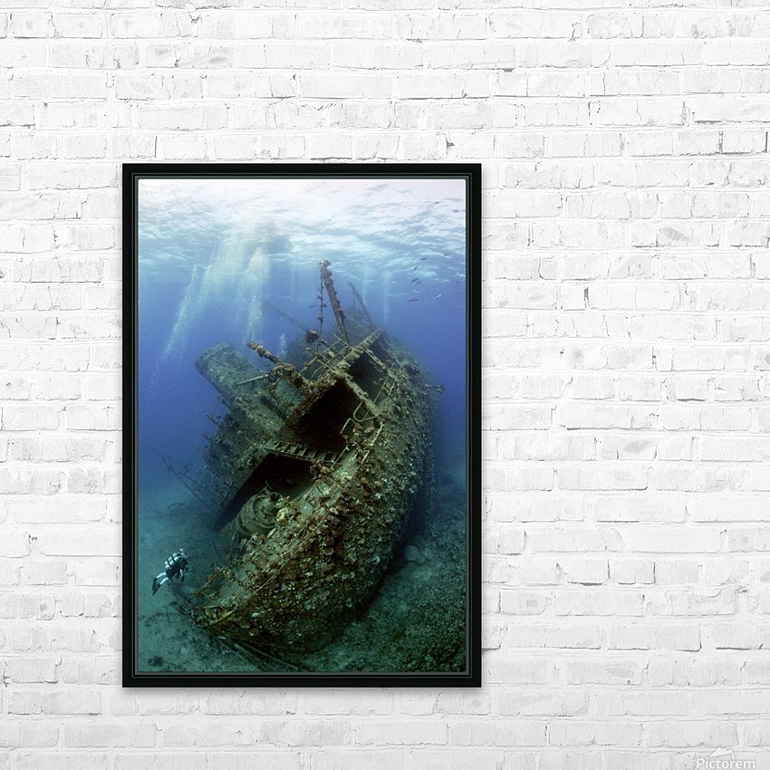 Giannis D wreck. HD Sublimation Metal print with Decorating Float Frame (BOX)