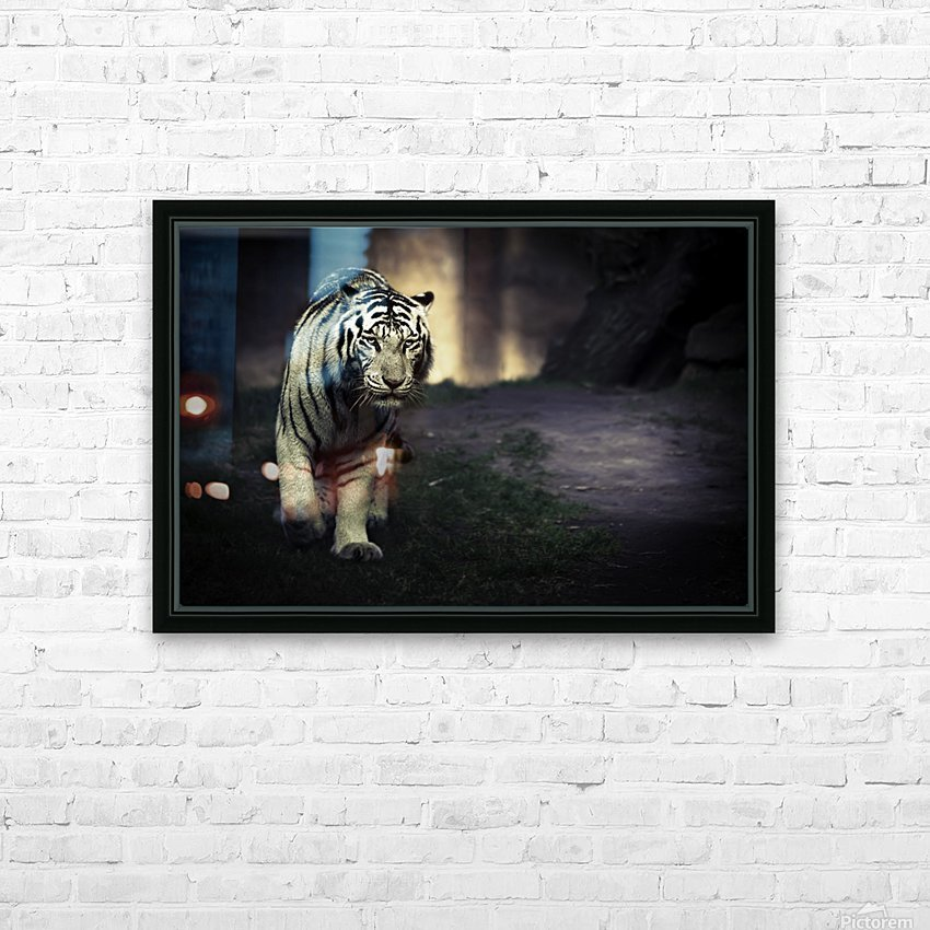 White walker HD Sublimation Metal print with Decorating Float Frame (BOX)