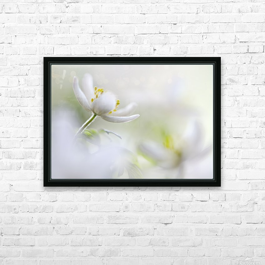 White Spring HD Sublimation Metal print with Decorating Float Frame (BOX)
