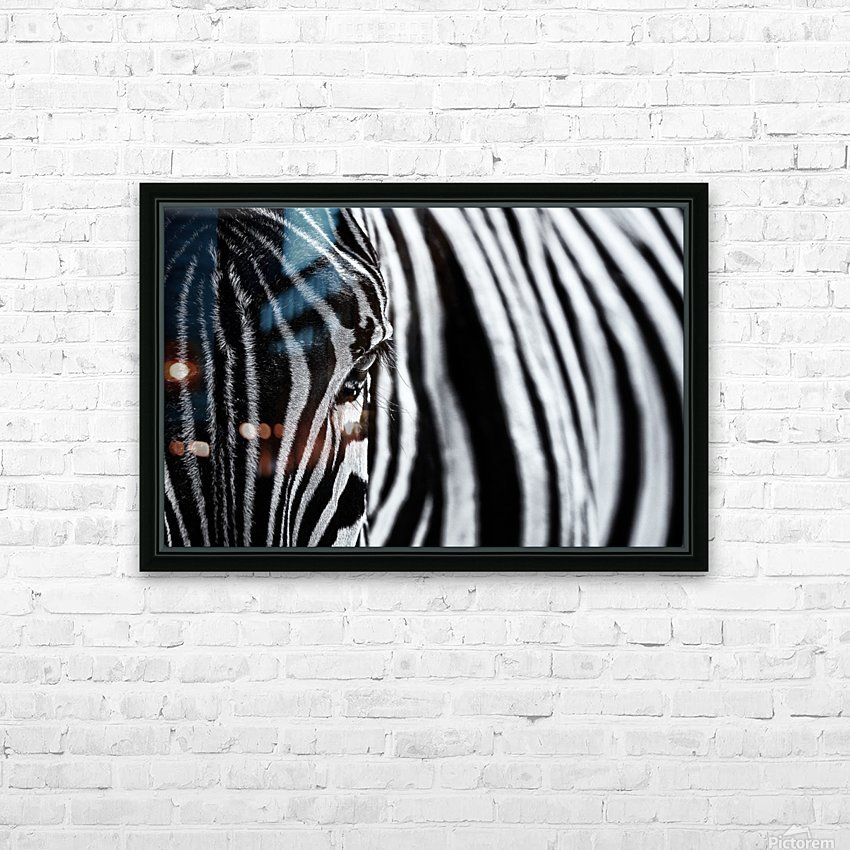 The look of nature HD Sublimation Metal print with Decorating Float Frame (BOX)