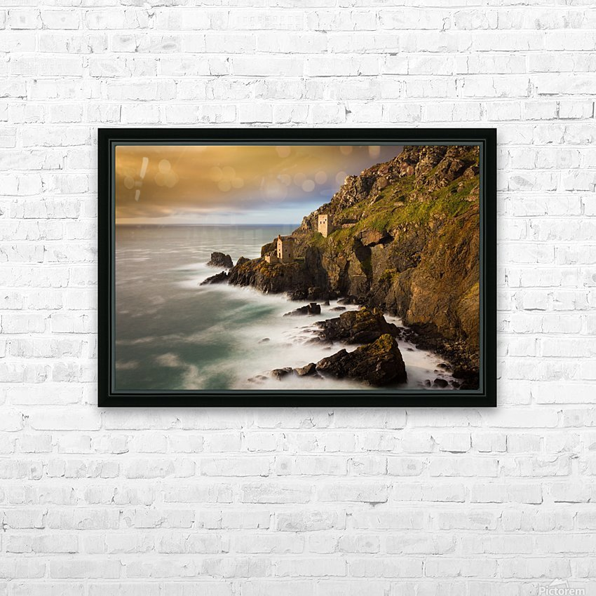 Botallack in 40 seconds HD Sublimation Metal print with Decorating Float Frame (BOX)