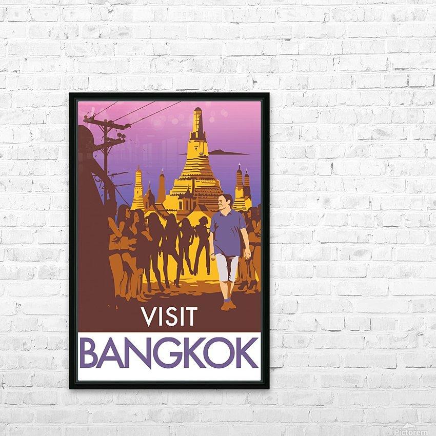 Visit Bangkok HD Sublimation Metal print with Decorating Float Frame (BOX)