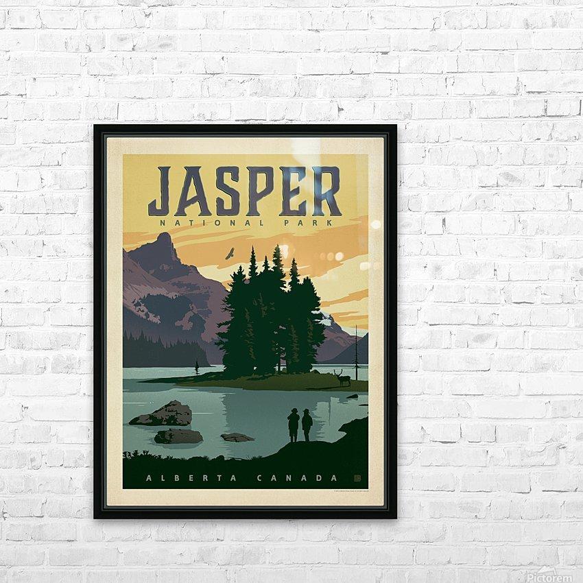 Jasper National Park HD Sublimation Metal print with Decorating Float Frame (BOX)