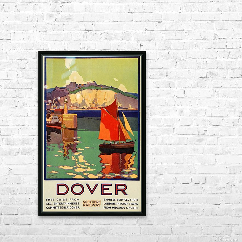 Dover Southern Railway HD Sublimation Metal print with Decorating Float Frame (BOX)