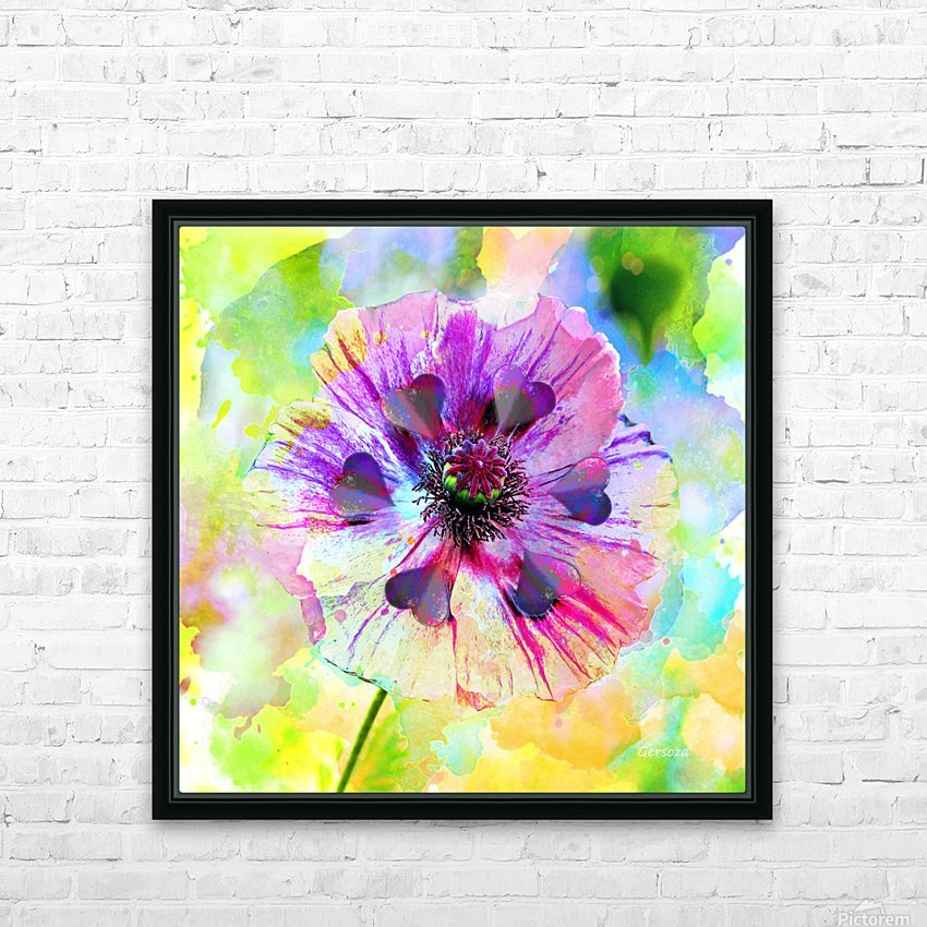 Art216 HD Sublimation Metal print with Decorating Float Frame (BOX)