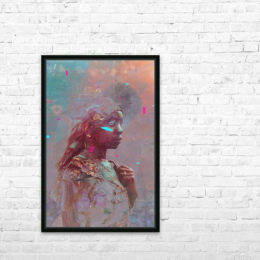africa  HD Sublimation Metal print with Decorating Float Frame (BOX)