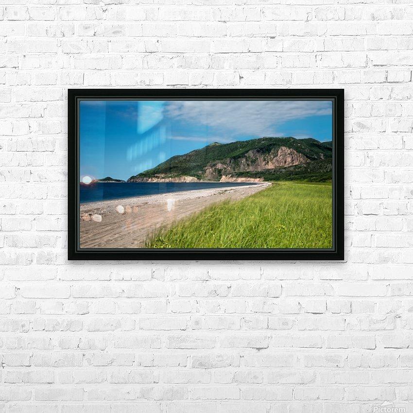 Petit Etang Beach Memories-2 HD Sublimation Metal print with Decorating Float Frame (BOX)
