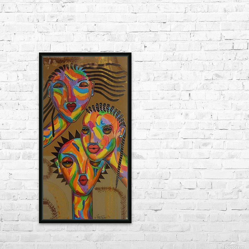 3sisters HD Sublimation Metal print with Decorating Float Frame (BOX)