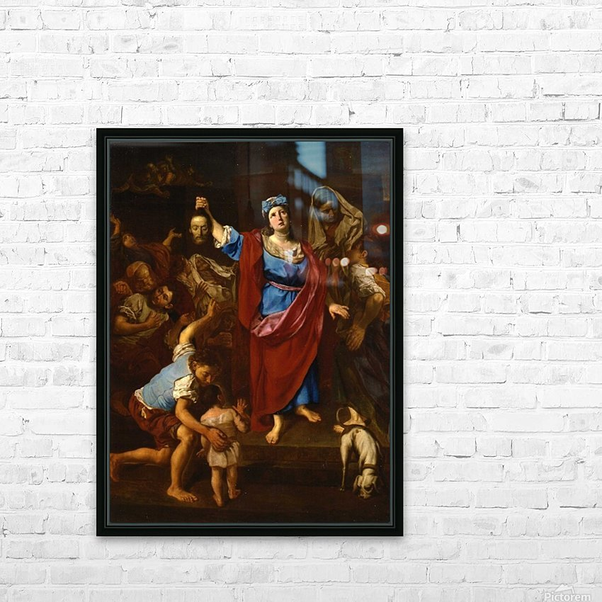 Judith HD Sublimation Metal print with Decorating Float Frame (BOX)