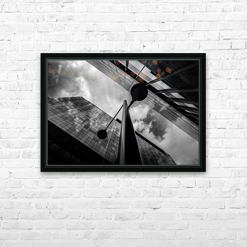 W&B HD Sublimation Metal print with Decorating Float Frame (BOX)