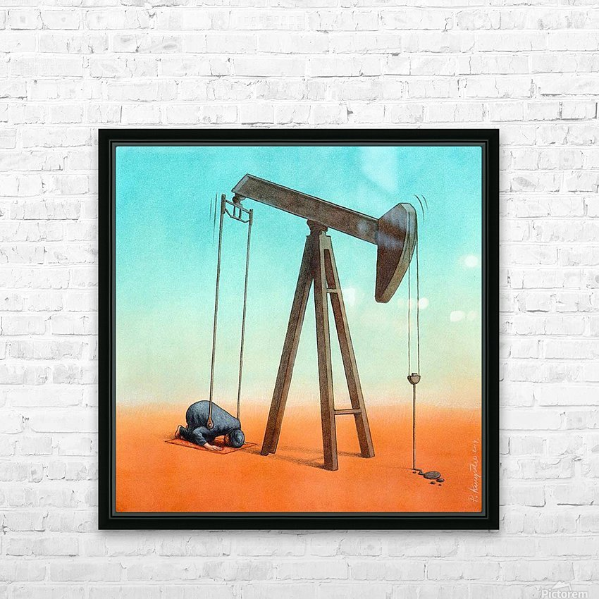 ISIS HD Sublimation Metal print with Decorating Float Frame (BOX)