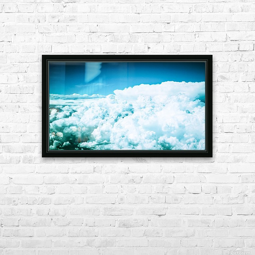 untitled HD Sublimation Metal print with Decorating Float Frame (BOX)