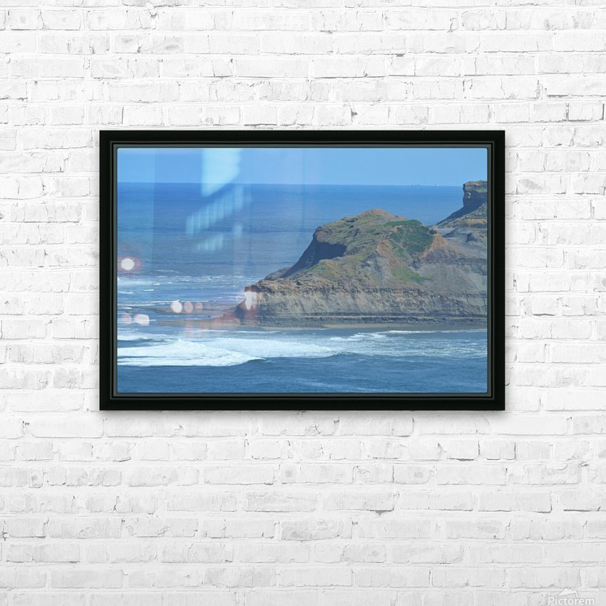 Baboon rock HD Sublimation Metal print with Decorating Float Frame (BOX)