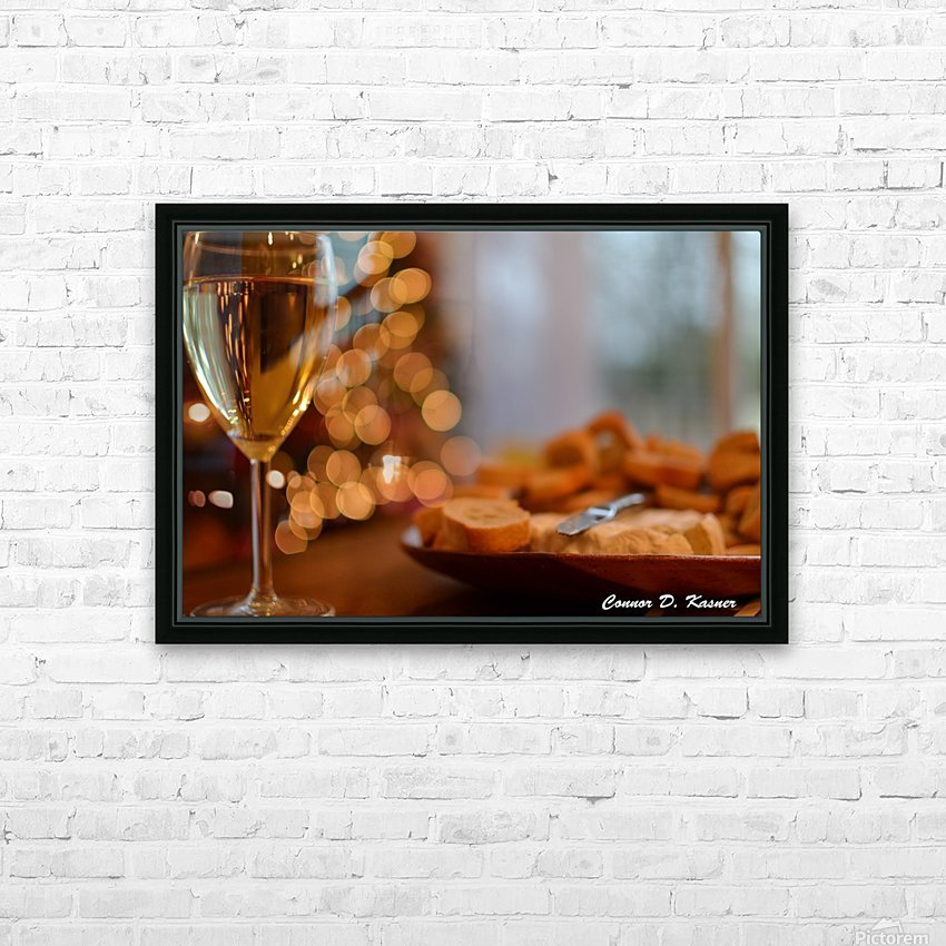Connor Kasner HD Sublimation Metal print with Decorating Float Frame (BOX)