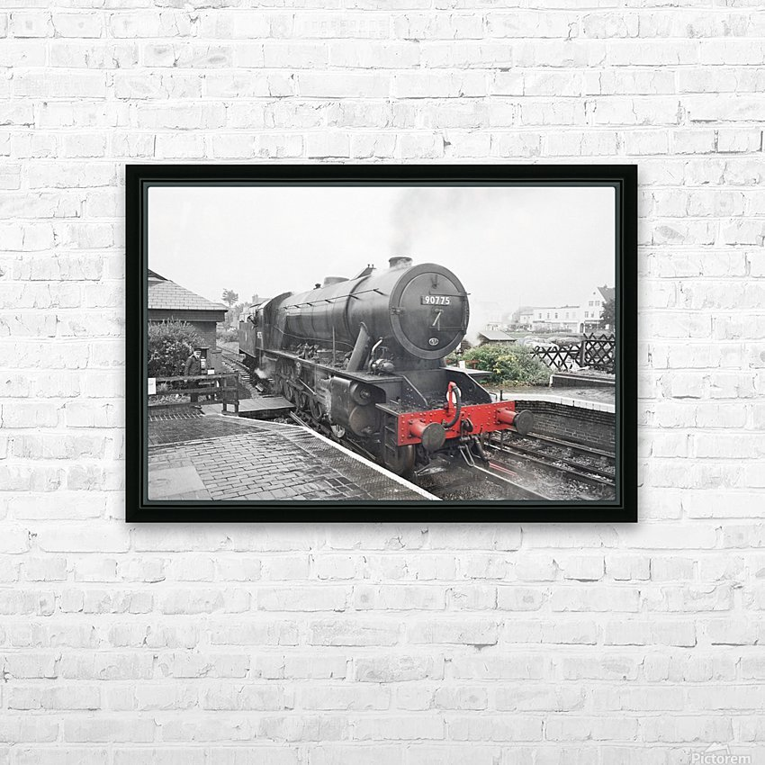 Old engine HD Sublimation Metal print with Decorating Float Frame (BOX)
