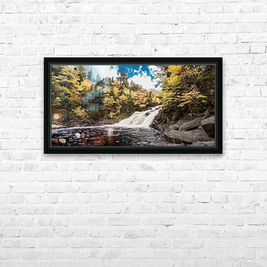 Colorful Mary Ann Falls HD Sublimation Metal print with Decorating Float Frame (BOX)