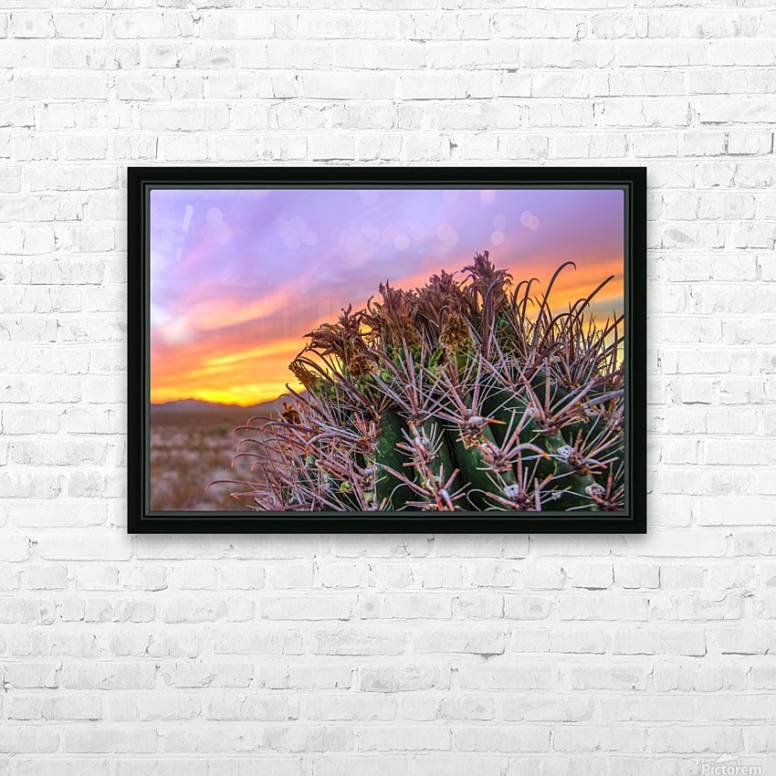 Barrel_of_Sun HD Sublimation Metal print with Decorating Float Frame (BOX)
