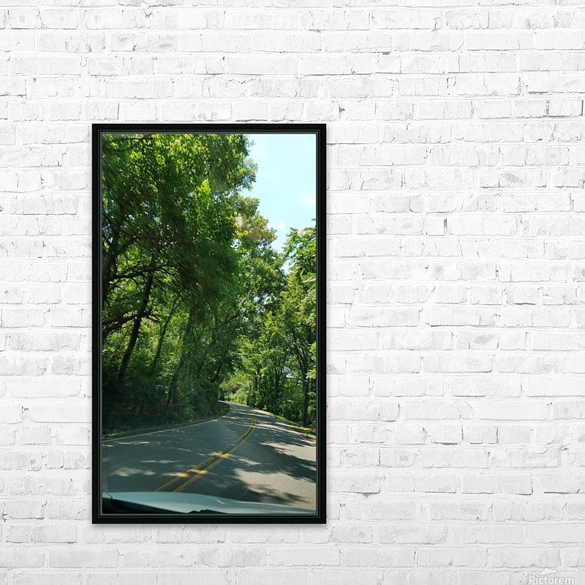 The Countryside HD Sublimation Metal print with Decorating Float Frame (BOX)