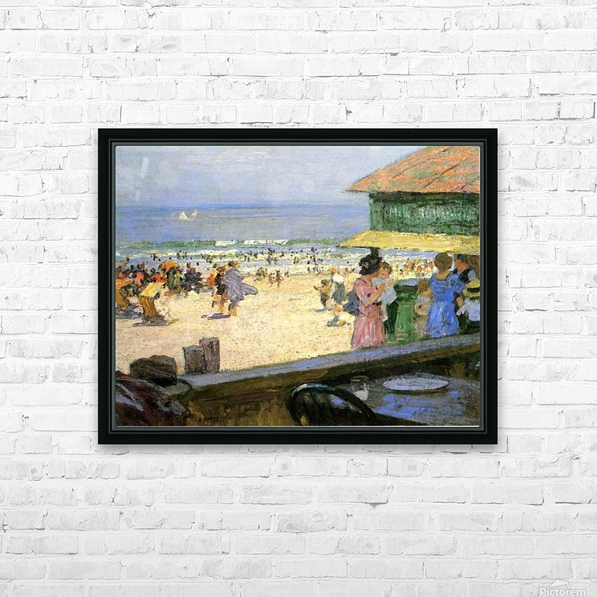 Beach Scenes HD Sublimation Metal print with Decorating Float Frame (BOX)